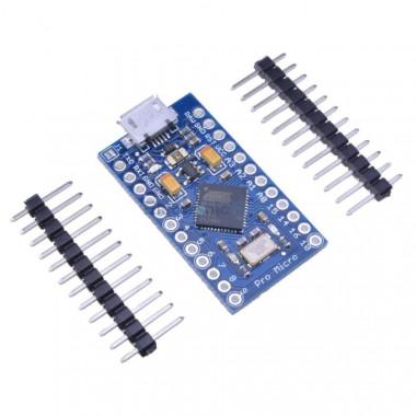 Arduino Pro Micro ATmega32U4 5 В/16 МГц (совместимая)