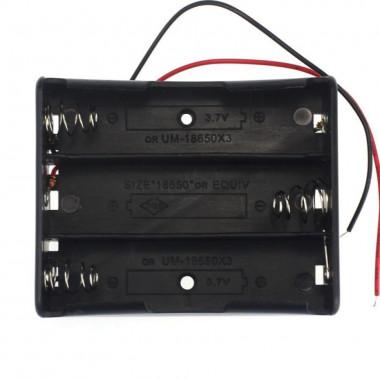 Контейнер для аккумуляторов 18650 х3