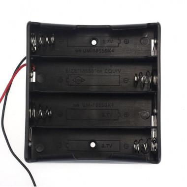 Контейнер для аккумуляторов 18650 х4