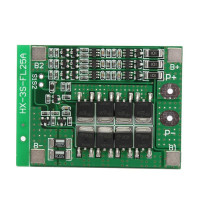 Модуль защиты заряда литиевых батарей HX-3S-FL25A-A