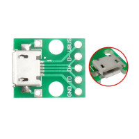 Плата micro USB мама