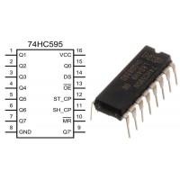 Сдвиговый регистр SN74HC595N