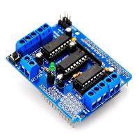 Шилд шаговых двигателей для Arduino Uno L293D