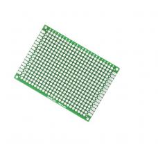 Печатная плата для прототипирования двусторонняя 5х7см