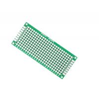 Печатная плата для прототипирования двусторонняя 3х7см