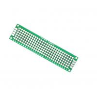 Печатная плата для прототипирования двусторонняя 2х8см