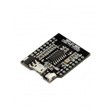 WIFI D1 mini - USB-TTL CH340 конвертирующий шилд