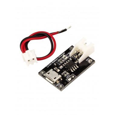 TP4056 MicroUSB Li-Ion плата заряда батареек