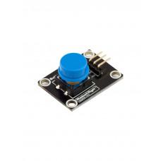 Модуль кнопки с колпачком (Синий)