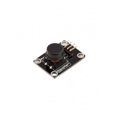 Модуль кнопки с колпачком (Чёрный)