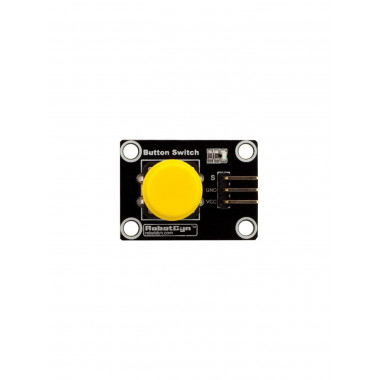 Модуль кнопки с колпачком (Желтый)