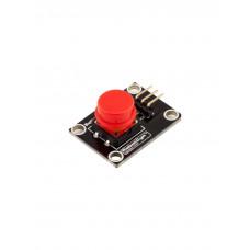 Модуль кнопки с колпачком (Красный)
