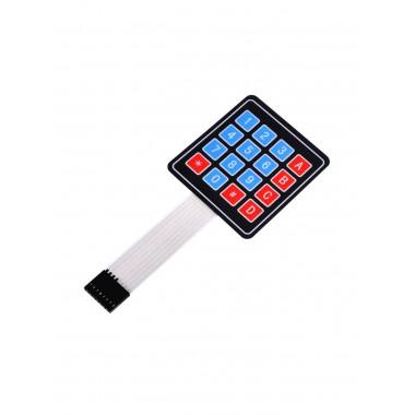 Матричная мембранная клавиатура 4х4 (Robotdyn)