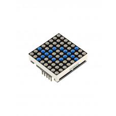 Матричный LED модуль 8x8 (Синий)