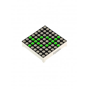 Матричный LED модуль 8x8 (Зелёный)