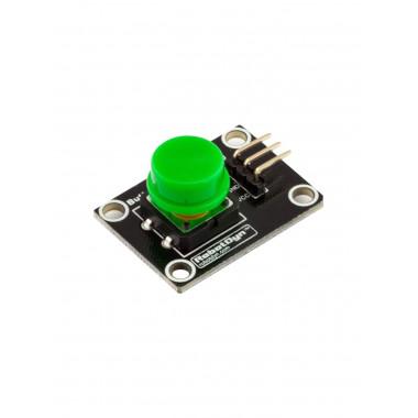 Модуль кнопки с колпачком (Зелёный)