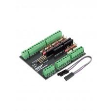 Шилд разведения на винтовые клеммники для Arduino Uno