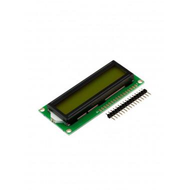 LCD дисплей 1602 (2 ряда 16 колонок/Зеленый)