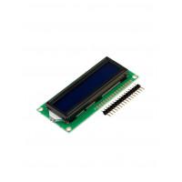 LCD дисплей 1602 (2 ряда 16 колонок/Синий)