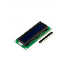 LCD дисплей 1602 (2 ряда 16 колонок/Синий/Китай)