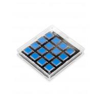 Корпус для клавишной клавиатуры 4х4 (Прозначный)