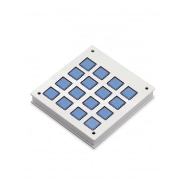 Корпус для клавишной клавиатуры 4х4 (Белый)