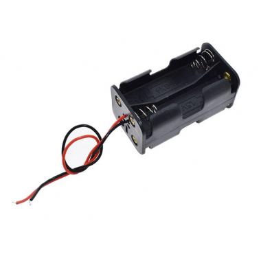 Контейнер для аккумуляторов АА 4 батарейки V1