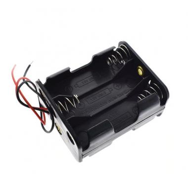 Контейнер для аккумуляторов АА 6 батареек V2