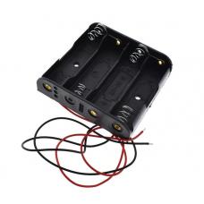 Контейнер для аккумуляторов АА 4 батарейки V3
