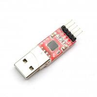 TTL UART программатор USB CP2102 (Красный)
