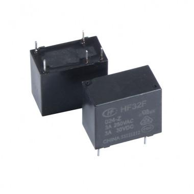 Реле электромагнитное HF32F/024-Z 3A HONGFA