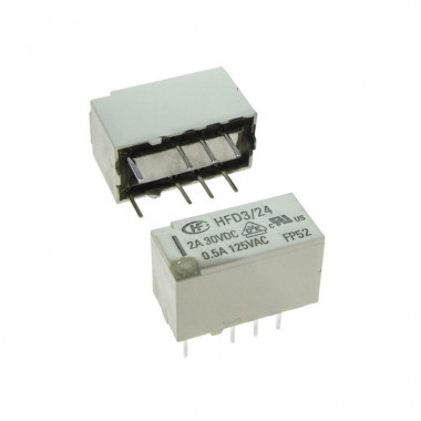 Реле электромагнитное HFD3/24 2A HONGFA