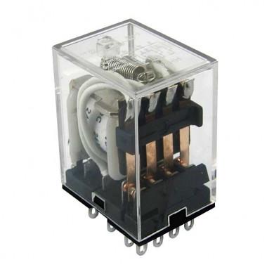 Реле электромагнитное HJQ-22F-24VDC-4Z 5A