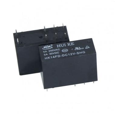 Реле электромагнитное HK14FD-DC12V-SHG HKE