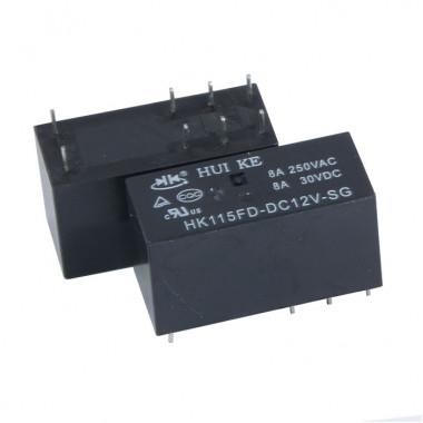 Реле электромагнитное HK115FD-DC12V-SG HKE