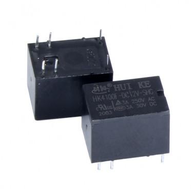 Реле электромагнитное HK4100F-DC12V-SHG HKE