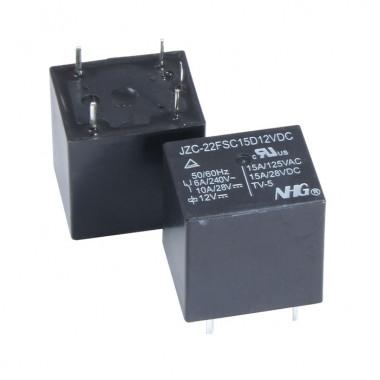 Реле электромагнитное JZC-22F-S-C-15-D-12VDC FORWARD