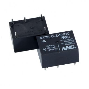 Реле электромагнитное NT76-C-Z-DC9V-0.45W FORWARD