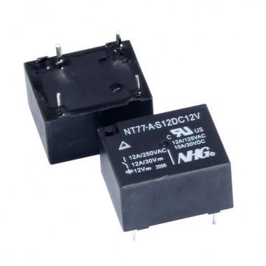 Реле электромагнитное NT77-A-S-12-DC12V FORWARD