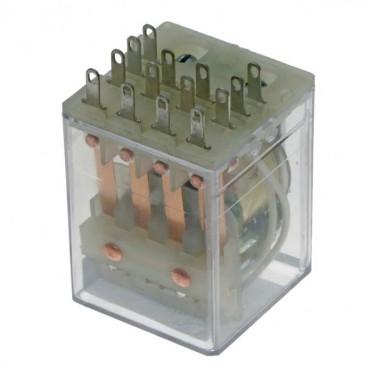 Реле электромагнитное РП21М-004 ~220В (2019г)